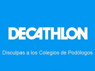 Disculpas de Decathlon